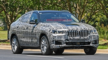 2020 Bmw X6 Spied With Minimal Camouflage Autoblog