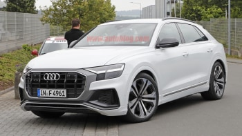 2020 Audi Q8: News, SQ8, RS Q8, Price >> 2020 Audi Sq8 Spied With No Camouflage Autoblog