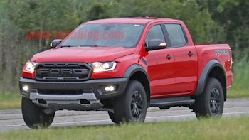 2019 Ford Ranger Raptor Pickup Looks Rad In Red Autoblog