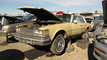 1976 Cadillac Seville Based On A Chevy Nova Is Now A Junkyard Gem