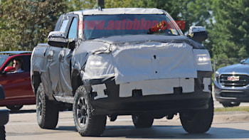 2020 Ram 2500 Power Wagon Spied With Heavy Camouflage Autoblog