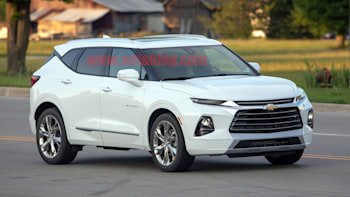New Chevy Blazer >> 2019 Chevy Blazer Spied For The First Time Uncovered On