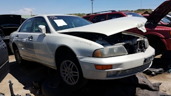 this 2002 mitsubishi diamante is a junkyard gem - autoblog