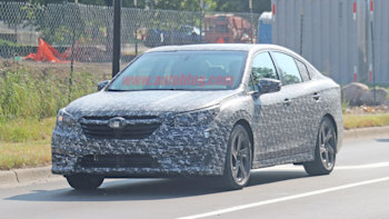 2020 Subaru Legacy Spied With Little Camouflage Autoblog