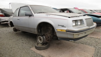 This 1985 Buick Somerset Regal Limited is a junkyard gem