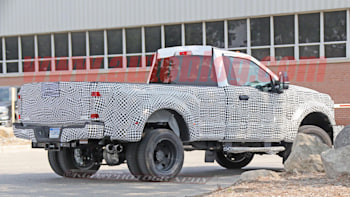 2020 Ford F 350 Super Duty Dually Spy Shots Autoblog