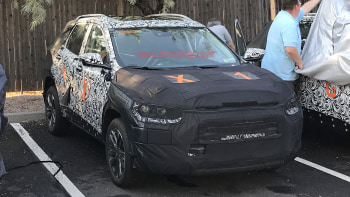 Spy Photos New Gm Subcompact Crossover Could Be A Gmc Or Chevy