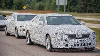 Cadillac Ct4 Ct5 Spy Photos Two New Sedans Coming In Era Of Suvs