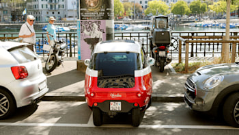 Tiny Microlino, a revival of the BMW Isetta, about to enter