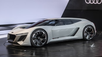 Audi Pb18 E Tron Electric Supercar With Racing Roots At Pebble Beach