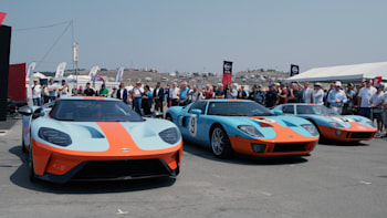 Ford Unveils 2019 Gt Heritage Edition With Gulf Livery