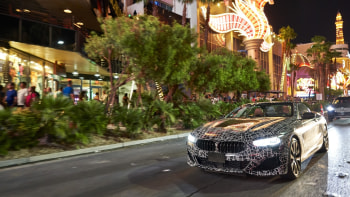 Look At These Photos Of The 2019 BMW 8 Series In Mojave Desert