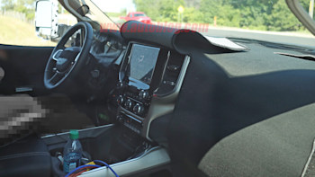 2020 Ram 3500 Heavy Duty S Interior Revealed In Spy Shots