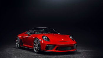 The 911 Speedster Is A Limited Edition Open Top Gt3 Autoblog