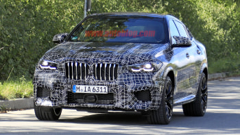2020 Bmw X6 M Spy Shots Reveal Big Brakes Tires Exhaust Autoblog