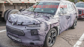 2020 Chevy Trax: Redesign, News, Release >> Next Gen Chevy Trax Spied With Blazer Like Design Elements