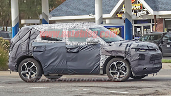 Next Gen Chevy Trax Spied With Blazer Like Design Elements Autoblog