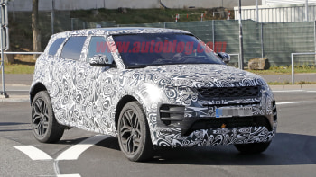 Next Gen Range Rover Evoque Spied With Less Camo And Uncovered