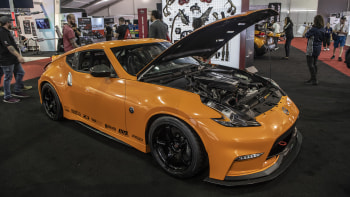 nissan 370z comes to sema with a new engine alongside other trucks