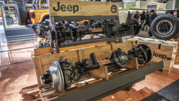 Jeep Wrangler burnishes off-road cred with new Mopar axles
