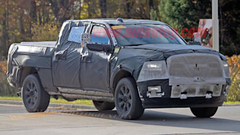 2020 Ram 2500 And 3500 Spy Shots Reveal Updated Styling Autoblog