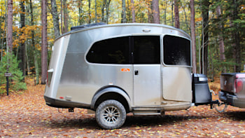 Review: Camping in an Airstream Basecamp towed by a Honda