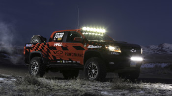 Chevy Colorado ZR2 gets Chevy Performance off-road parts