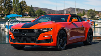 2019 Chevrolet Camaro Ss 10 Speed Road Test Review Autoblog