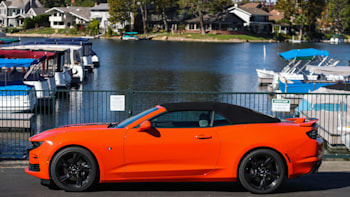 Short Report 2019 Chevrolet Camaro Ss Convertible Review Ny Daily