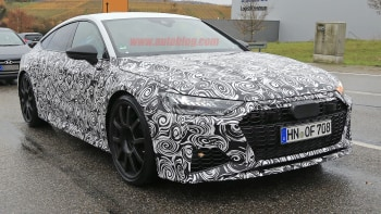2020 Audi Rs7 Spied With Production Parts Autoblog