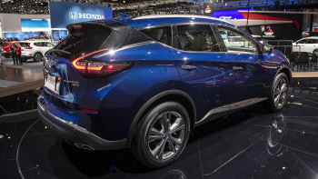 2019 nissan murano gets new grille safety tech autoblog