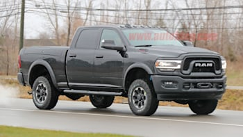 2020 Ram 2500 Power Wagon Spy Shots Autoblog