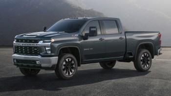 2020 Gmc Sierra Hd Face Teased Reveal Later This Year Autoblog