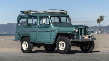 1962 Jeep Willys Wagon restomod drive review | Autoblog