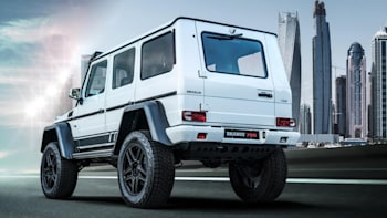 Brabus 700 4x4 Squared is a wild AMG G63 | Autoblog