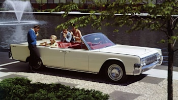Lincoln Continental Suicide Doors Then And Now Autoblog
