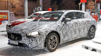 2020 Mercedes Benz Cla Class Wagon Looks Good In Spy Shots Autoblog
