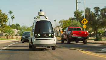 Autonomous vehicles are now delivering groceries to your