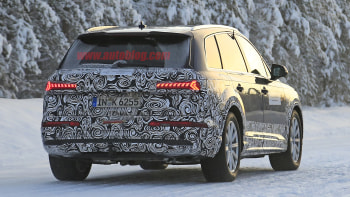 2020 Audi Q7 Prototype Spied With Refreshed Styling Autoblog