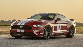 2019 Hennessey Heritage Ford Mustang First Drive Review Autoblog