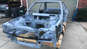 Probable Last Unused Bmw E30 M3 Body Shell For Sale Autoblog