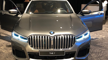 2020 Bmw 7 Series Photos Lead On Twitter Show A Big Bold Grille