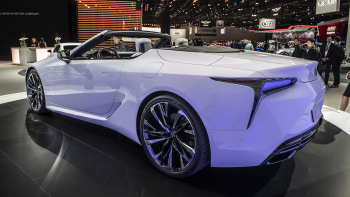 Lexus Lc Convertible Will Drop Its Top At The Detroit Auto Show
