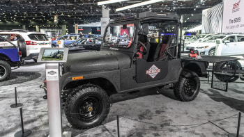 Mahindra comes to 2019 Detroit Auto Show with Roxor Concept