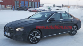 Mercedes Benz E Cl Spy Photos