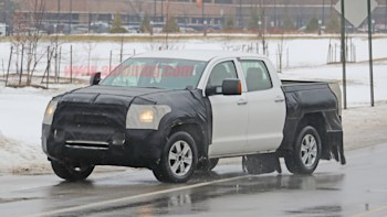 New Toyota Tundra is hiding rear suspension changes | Autoblog