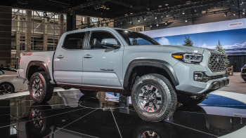 2020 Toyota Tacoma Pickup Truck Revealed At Chicago Auto Show Autoblog