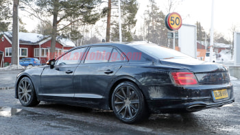 2020 Bentley Flying Spur Sedan Spied Testing In Europe Autoblog