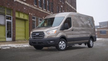 2020 Ford Transit van: new engine, transmission, all-wheel