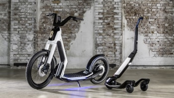 VW's Streetmate and Cityskater join the electric scooter
